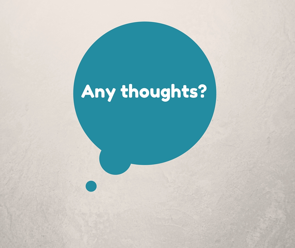 Do thoughts matter?
