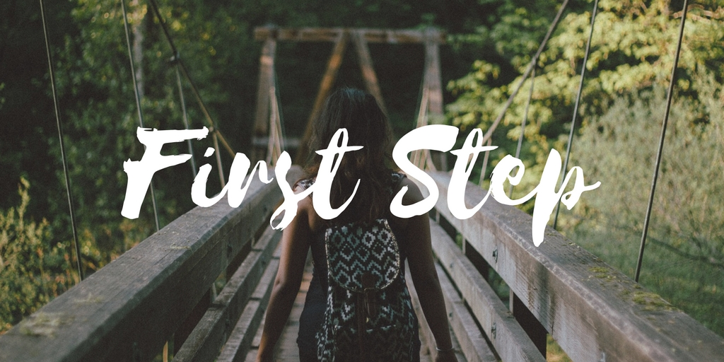 The First Step Concept: How to deal with problems